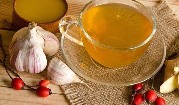 чай с чесноком