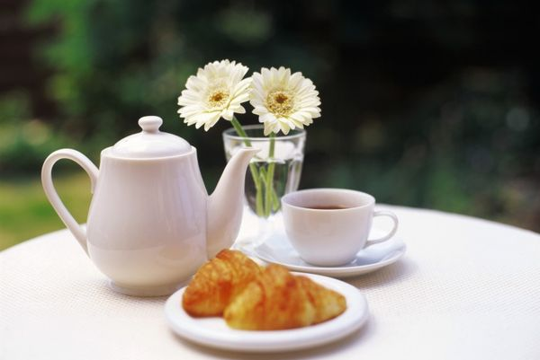 чай натощак