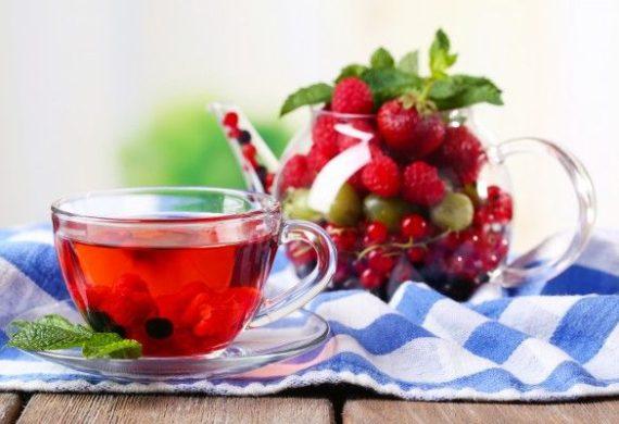 ягодные чаи
