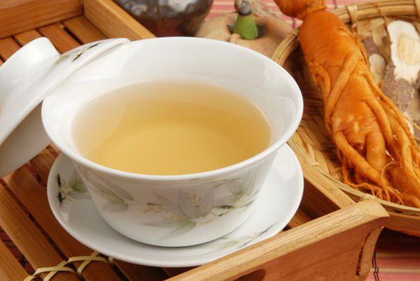чай женьшень
