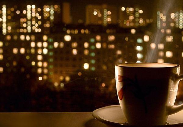 Перед сном чай