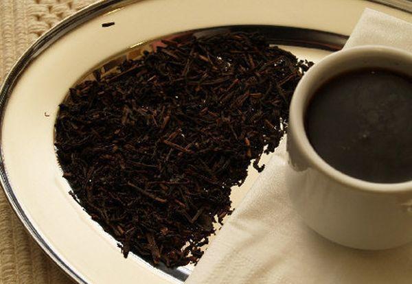 Какие вещества содержатся в черном чае