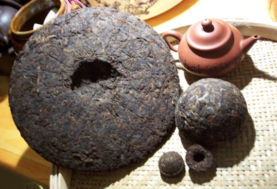 Прессованный чай