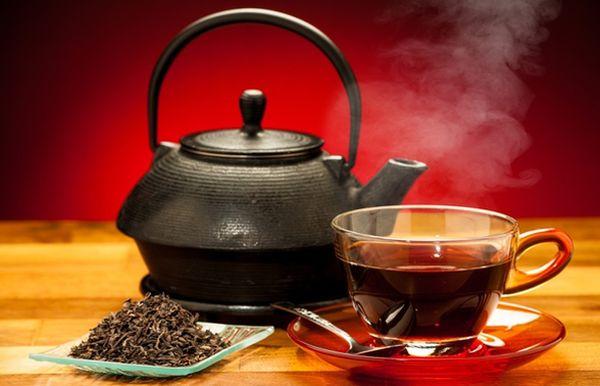 Черный чай, почему черный