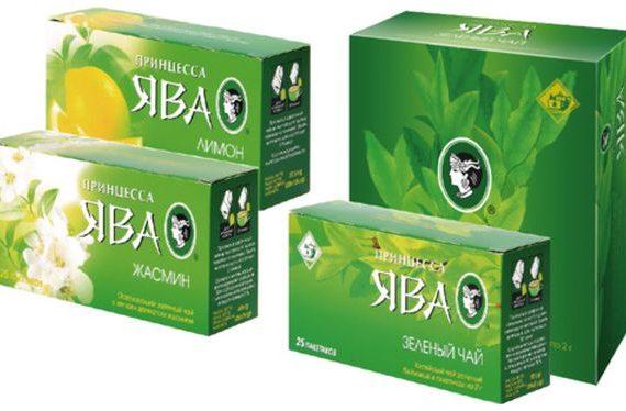 Зеленый чай Ява