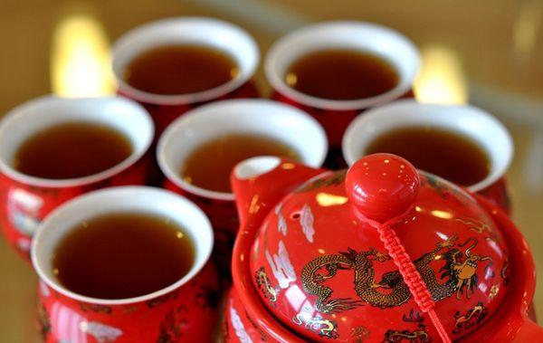 Красный дракон чай