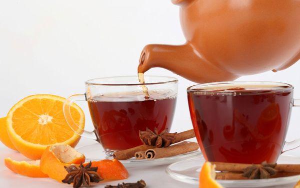 чай с апельсином и гвоздикой