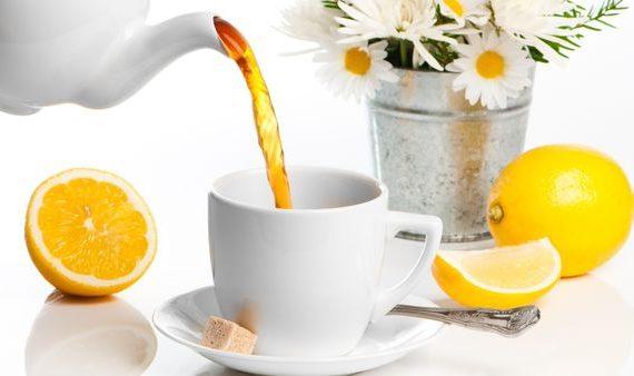 Чай калорийность с лимоном
