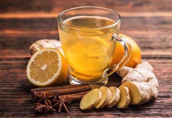Имбирь, корица, мед, лимон