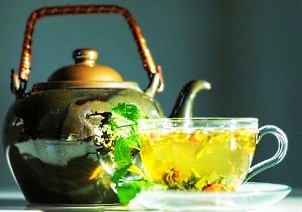 мелисса чай