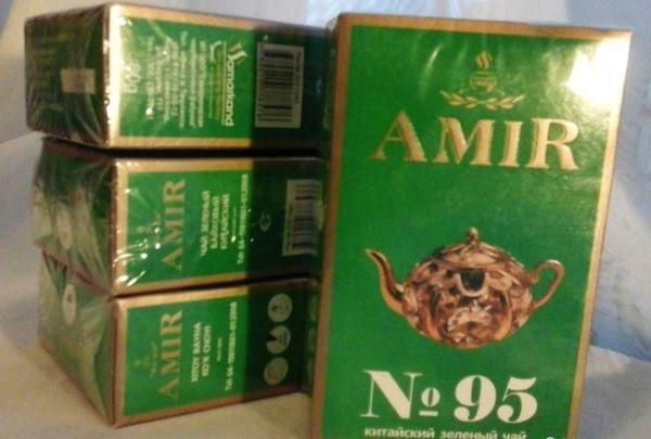 Зеленый чай 95