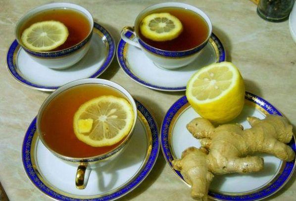 чай имбирь