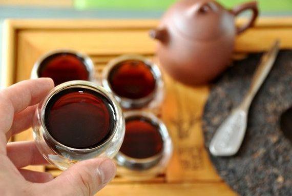 Пуэр, чай черный