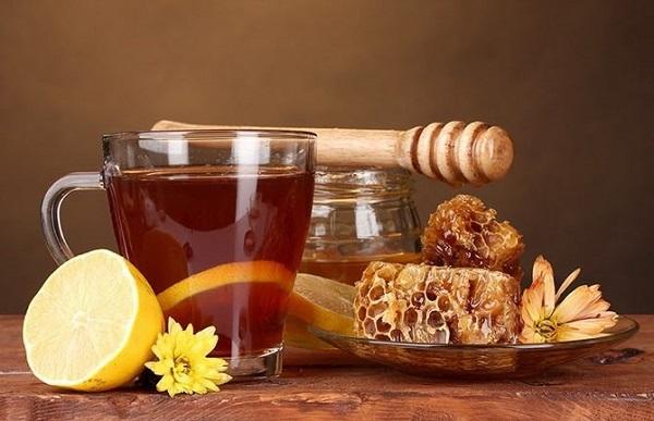Калорийность чая с медом