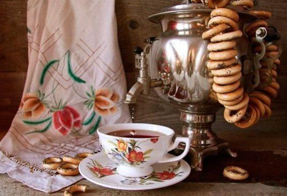 Как на Руси появился чай