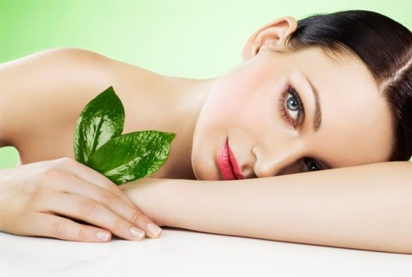 Зеленый чай для лица, помогает поддержать здоровье кожи