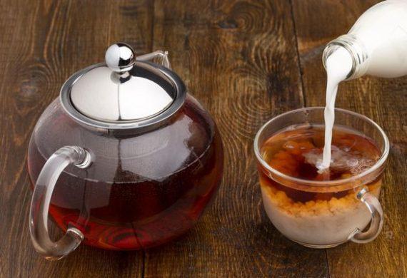 Чай с молоком, калорийность без сахара