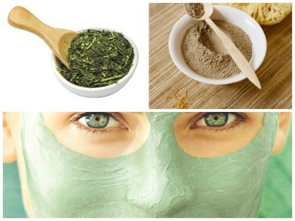 зеленый чай лицо