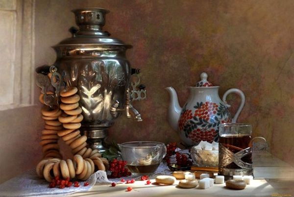 самовар и чай