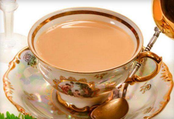 Калорийность чая с молоком