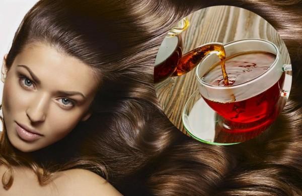 Черный чай для волос – природная красота и здоровье