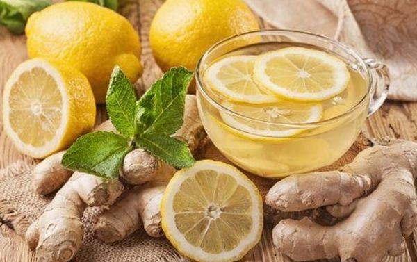 Имбирная вода для похудения с лимоном рецепт