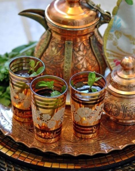 Марокканский чай: история происхождения, состав и рецепты