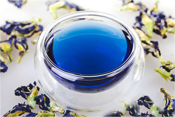 Синий чай из Тайланда - PikiTrip