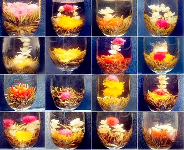 Чай в шариках: секреты заваривания цветочной композиции