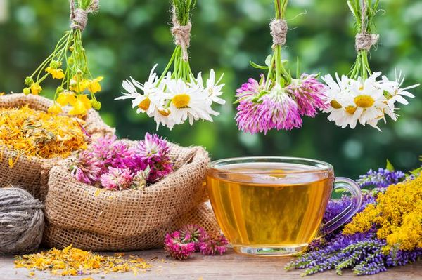 Очищающий чай
