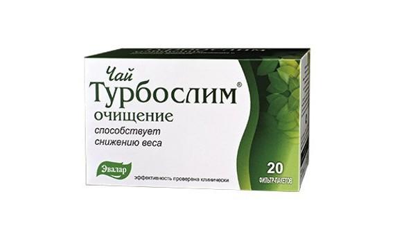 Чай Турбослим