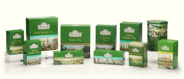 Ахмад чай — качество превыше амбиций. Лучшие коллекции чая