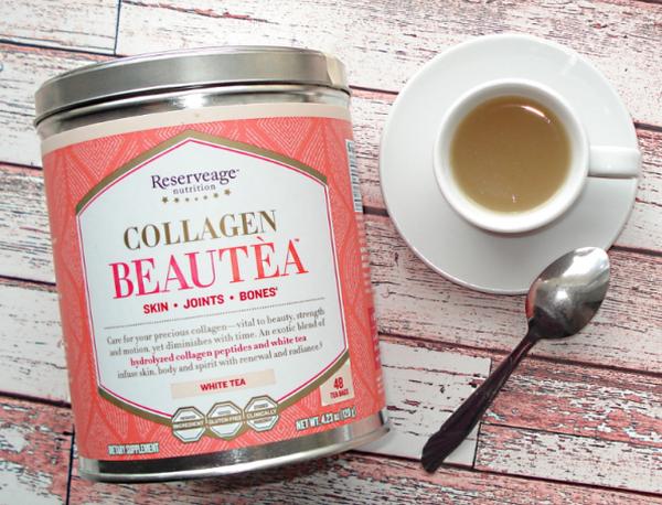 Чай с коллагеном для красоты и молодости. Польза коллагена