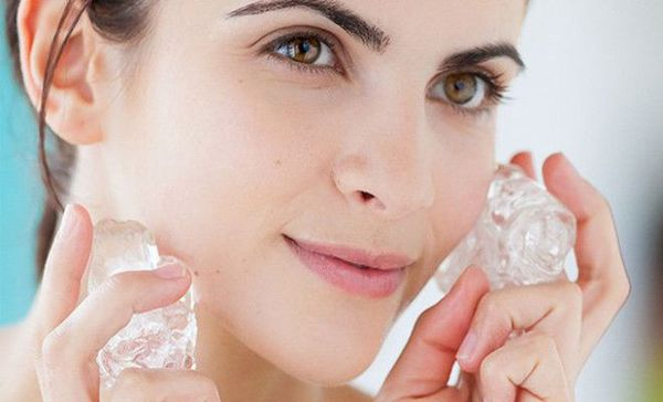 Лед из чая для красоты лица. Как приготовить косметический лед