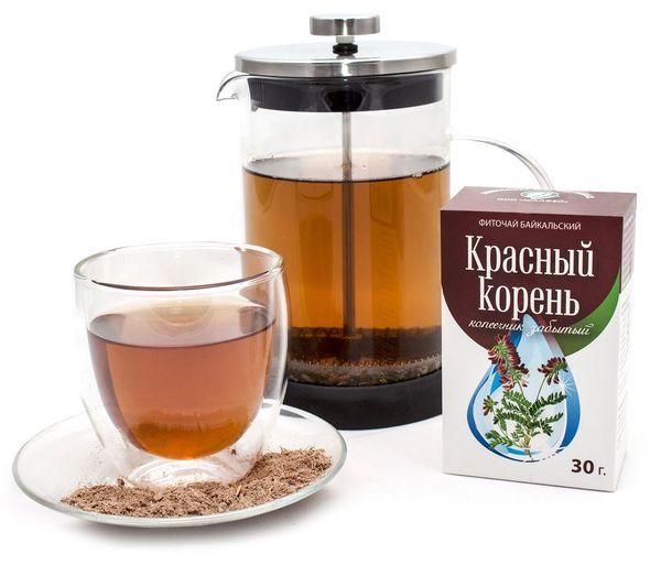Красный корень чай для мужского здоровья, полезные свойства