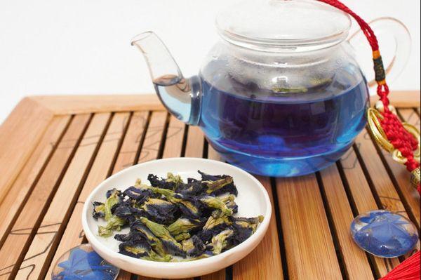 Голубой чай – насыщенный вкус тайских орхидей. Полезные свойства