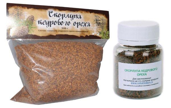 Скорлупа кедрового ореха – применение в народной медицине